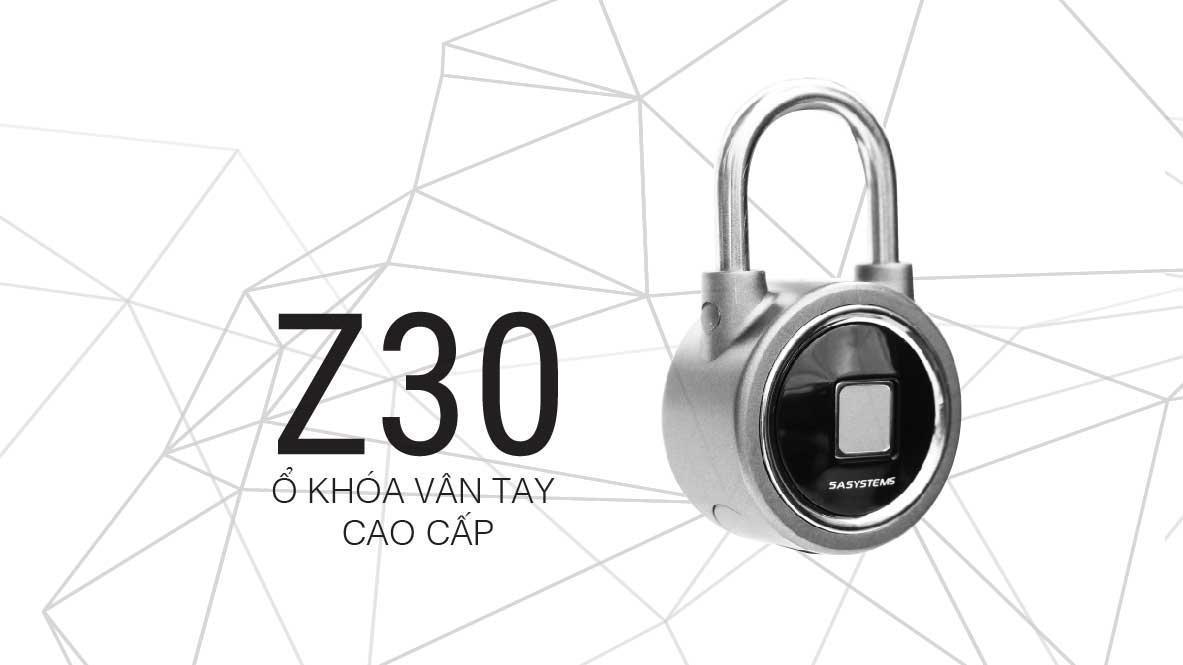 ổ khóa vân tay 5a z30