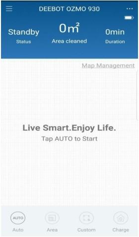 Hướng dẫn sử dụng app cho Robot Ecovacs DN55( OZM O930)