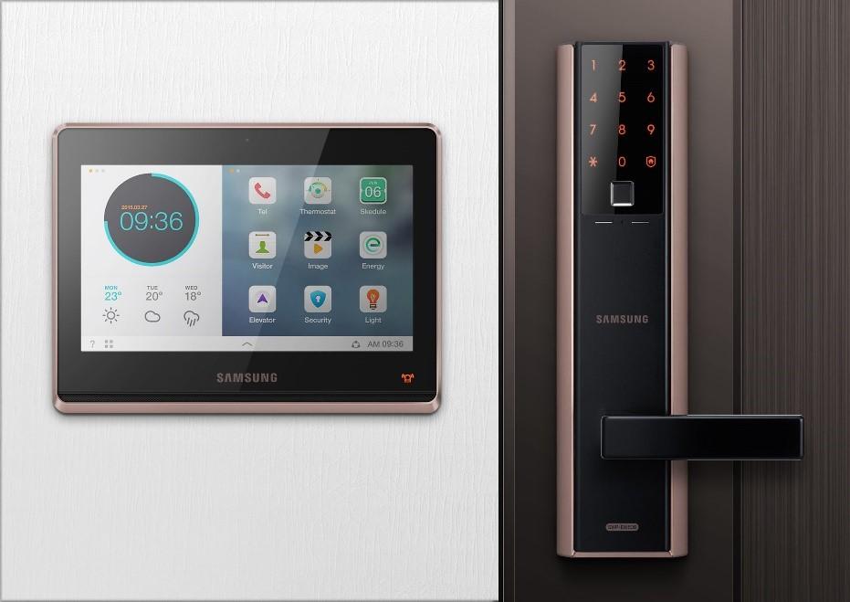 Khóa vân tay Samsung SHP - DH538