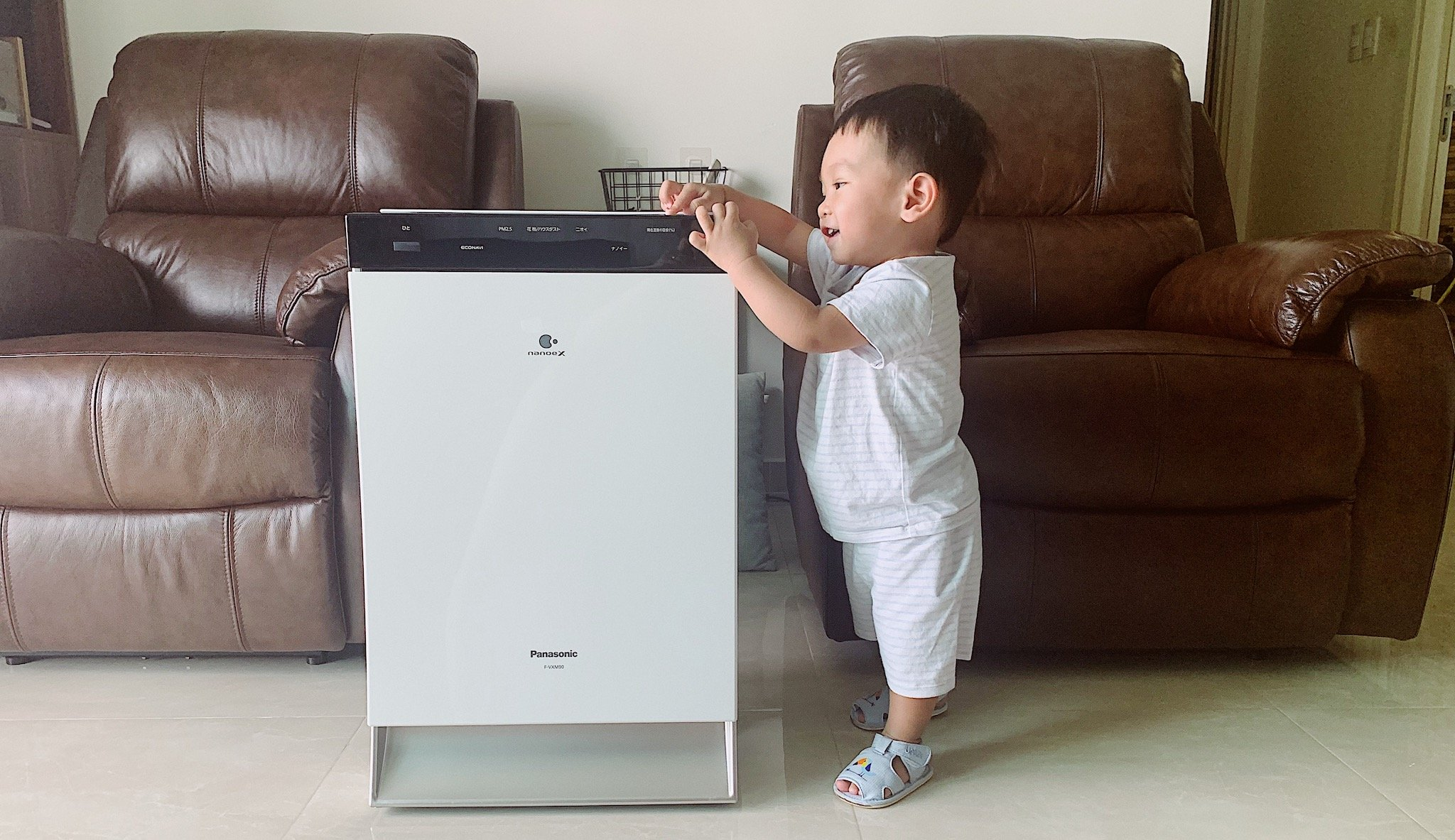 máy lọc không khí bù ẩm panasonic