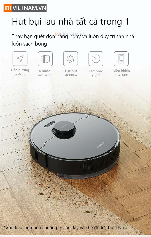 Robot hút bụi lau nhà Xiaomi Dreame L10 Pro