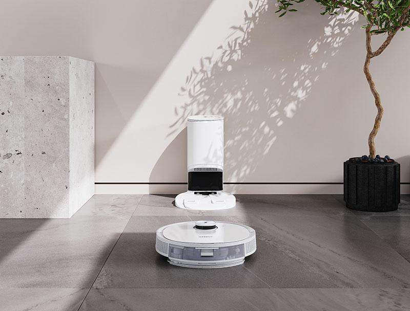 Robot hút bụi lau nhà Ecovacs Deebot T9 AIVI Plus