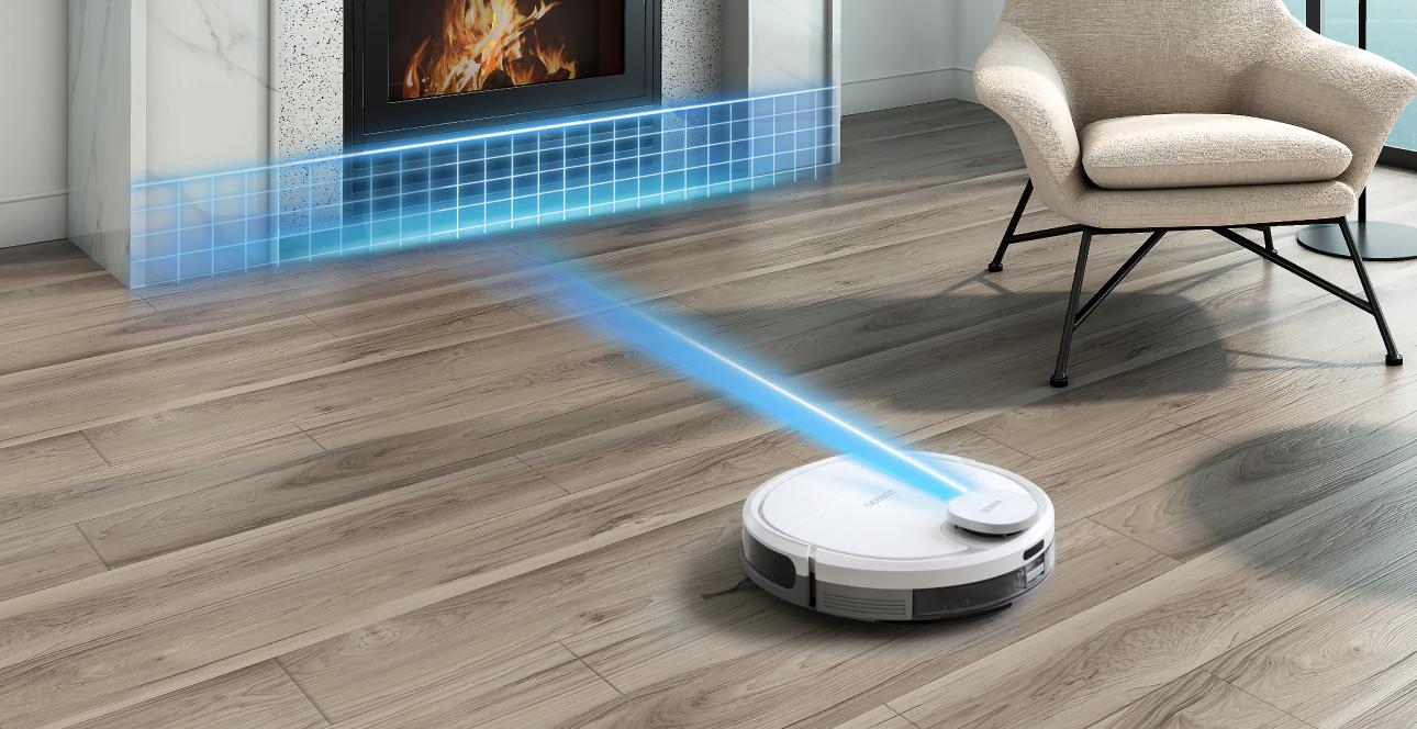 Robot hút bụi Ecovacs Ozmo 900- Combo hút bụi, lau sàn 2 trong 1