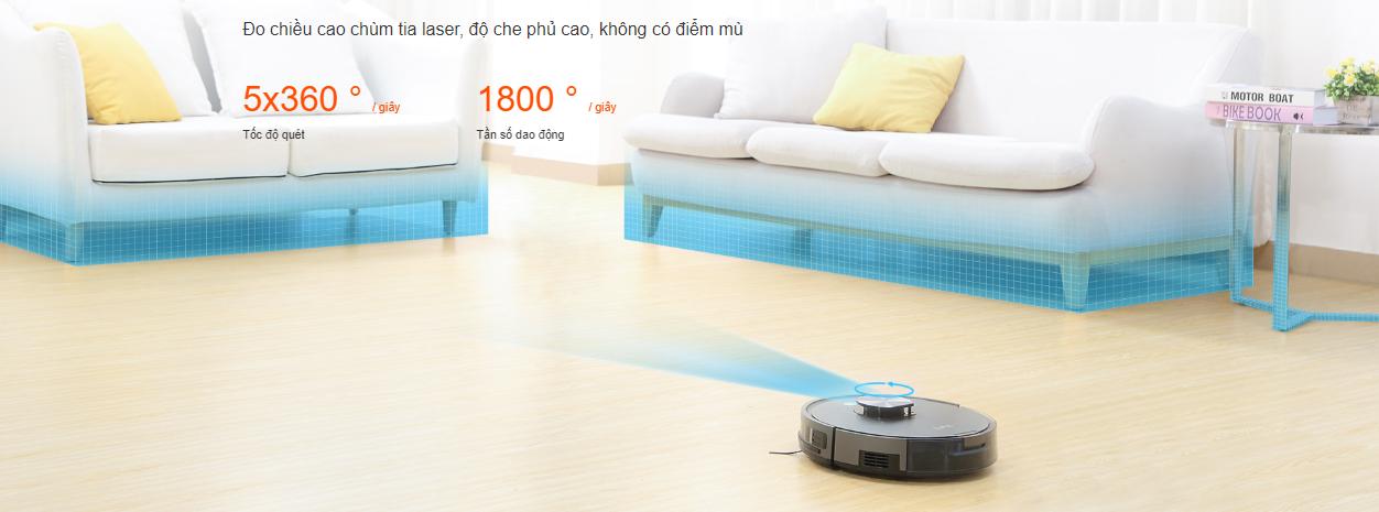 Review: Đánh giá robot hút bụi lau nhà ILIFE X900